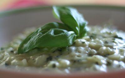 Risotto Zucchine e Basilico