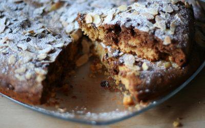 Torta vaniglia e cacao