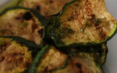Insalata di zucchine e finocchietto