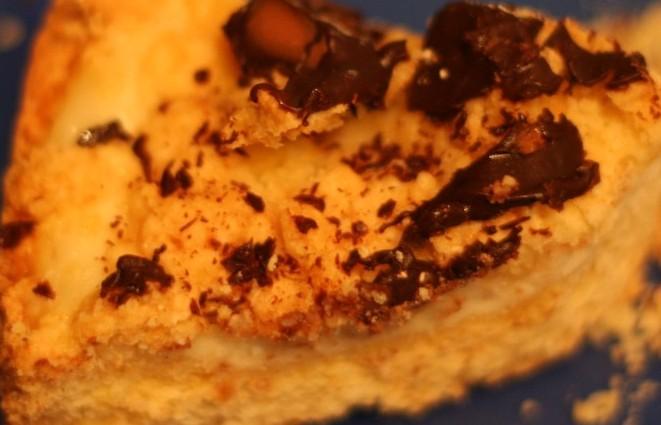 Torta croccante ricotta e cioccolato