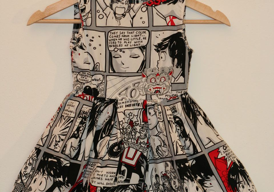 Vestito bimba fumetto – Cartoon girl dress