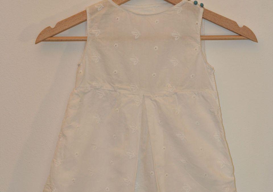 Vestito bimba bianco – White baby dress