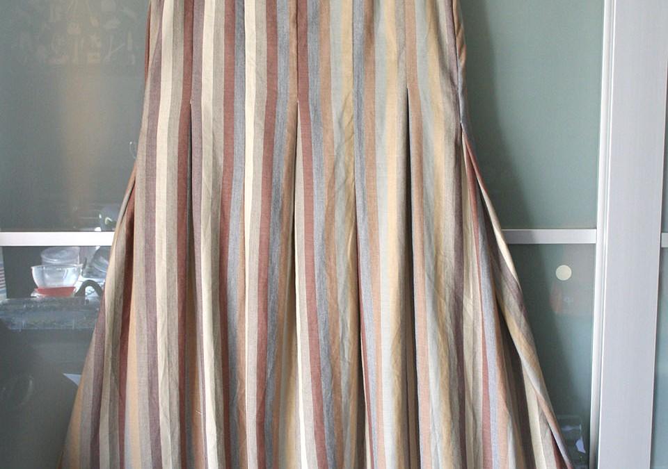 Vestito palloncino a righe – Balloon lines dress