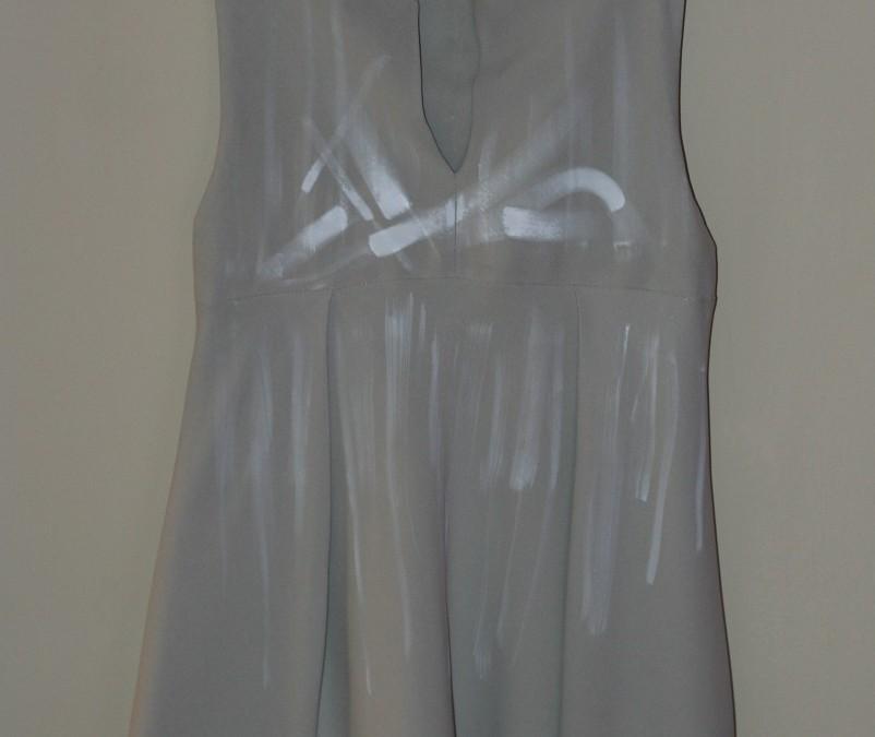 Vestito seta con piega – Silk fold dress